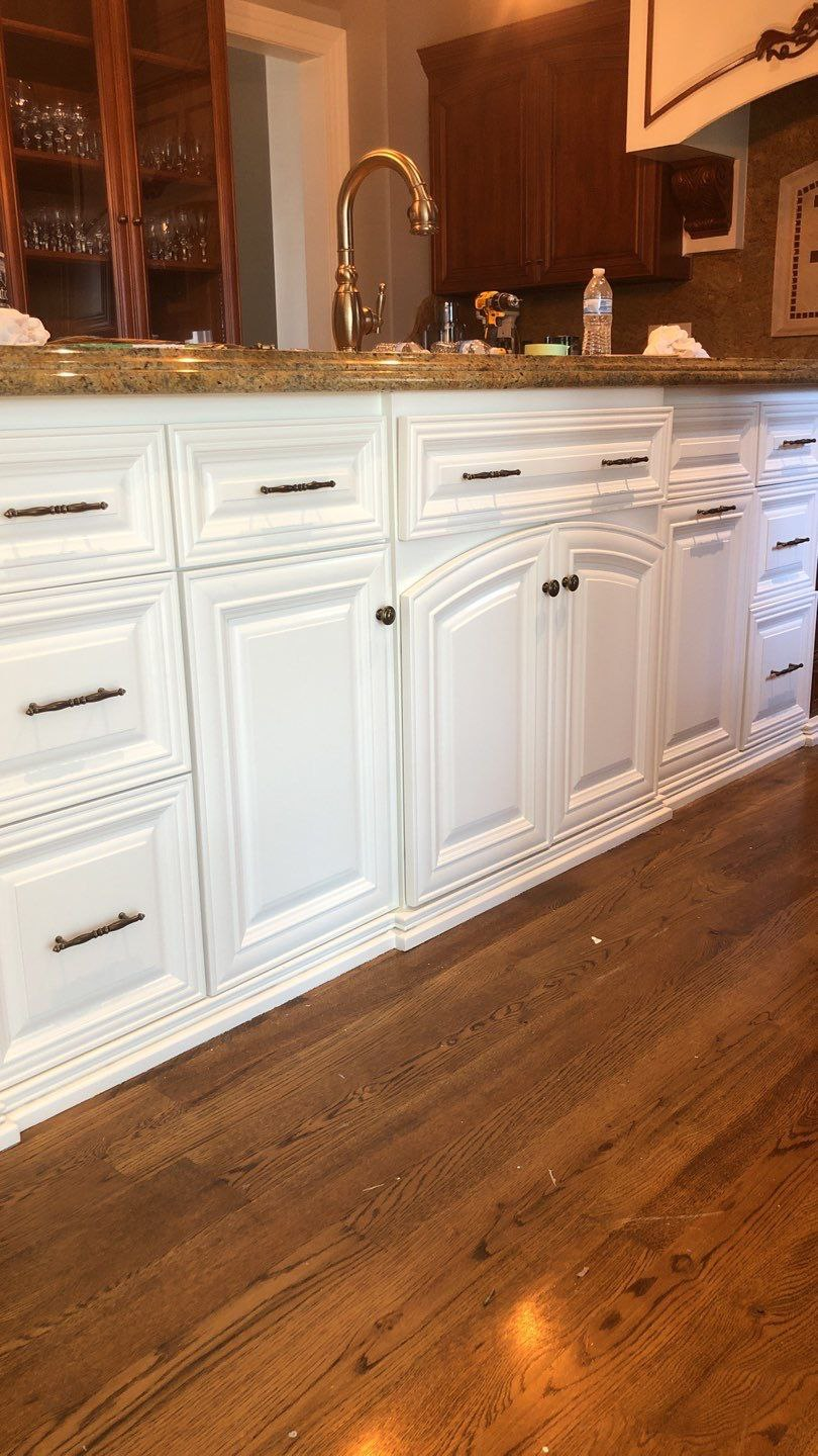 The True Cost To Paint Kitchen Cabinets In Catawba County